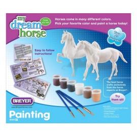 Coffret Kit Peinture Sur Cheval - Quarter Horse Et Saddlebred (Loisirs Creatif)