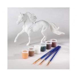 Coffret Kit De Peinture Sur Cheval - Peinture Numérotée 3D - Cheval Pinto (Loisirs Creatif)