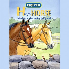 """Livre De Coloriage Et D'Activités """"H Is For Horse"""" (Loisirs Creatif)"""