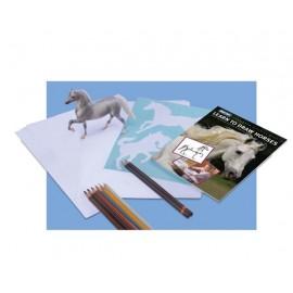 Apprendre dessiner un cheval euro miniature - Apprendre dessiner cheval ...