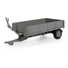 Trailer Massey Ferguson 3Ton - Tipping Bed With Drop Sides