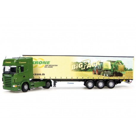 Camion Scania + Krone Big Pack