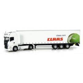 Tracteur Scania +Remorq Claas