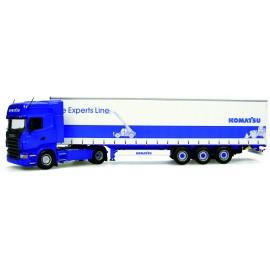 Camion Scania R580 Komatsu