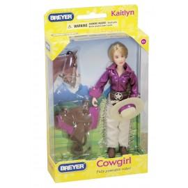 Kaitlyn, Set Western Avec Figurine, Et Acc. (Classic)