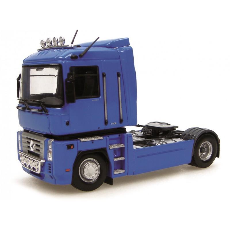 camion renault magnum bleu euro miniature. Black Bedroom Furniture Sets. Home Design Ideas