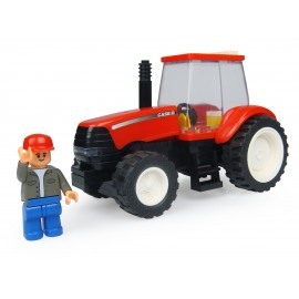 Tracteur Case A Monter Avec Figurine - 48 Pieces