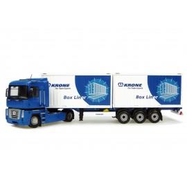 Truck Renault Magnum + Trailer Krone
