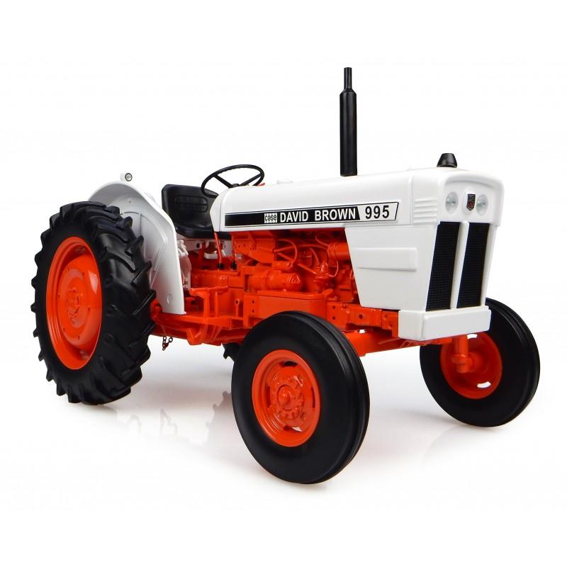 Universal Hobbies David Brown 995 1973 Modèle Tracteur échelle 1:16