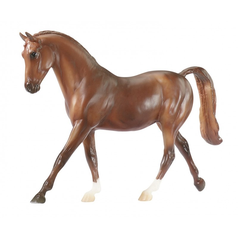 cheval pur sang anglais chestnut euro miniature. Black Bedroom Furniture Sets. Home Design Ideas