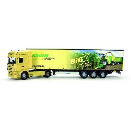 Scania R580 + Krone BigX1000 Trailer