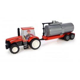 Tracteur Case + Citerne + Fermier