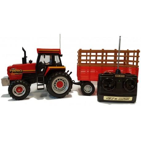 Tracteur Trac Turbo 990 radiocommandé avec remorque (inclus batterie)