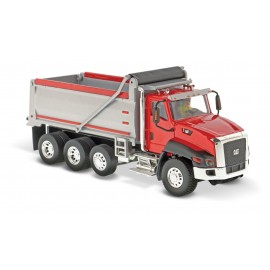 1:50 Cat CT660 Dump Truck - Red