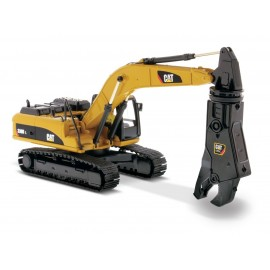 1:50 Cat 330D L Hydraulic Excavator with shear
