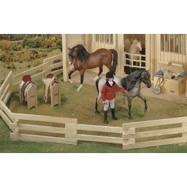 Corral En Bois Naturel (Traditionnal)