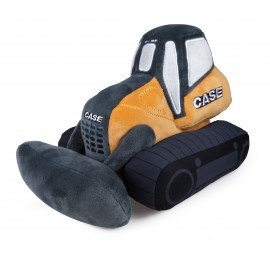Peluche Case Bulldozer Grand Modèle