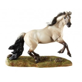 Race Du Monde - Cheval Mustang (Collection En Resine)