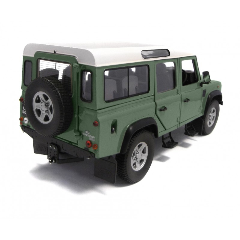 Land Rover Defender 2014 >> Land Rover Defender 110 TDi County - Light Green - 1/18 - Euro-Miniature