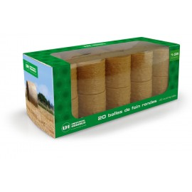 Pack of 20 round hay bales