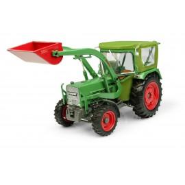TRACTEUR FENDT FARMER 5S 4WD CABINE PEKO/CHARGEUR FRONTAL BAAS