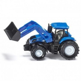 TRACTEUR NEW HOLLAND CHARGEUR FRONTAL AU 1/64EME
