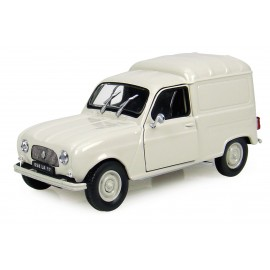 Renault 4 F4 Blanche