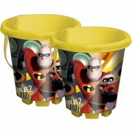 SEAU INCREDIBLES 2 DIAMETRE 18 CM