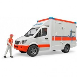 AMBULANCE MERCEDES SPRINTER AVEC AMBULANCIER
