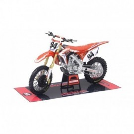 MOTO HONDA 450 HRC RACING BIKE KEN ROCZEN N° 94 AU 1/12EME