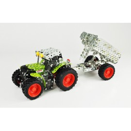 Mini Series - Claas Arion 430 Avec Remorque - 700 Pieces