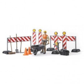 SET DE CONSTRUCTION AVEC FIGURINE