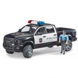 VEHICULE DE POLICE RAM 2500 AVEC POLICIER