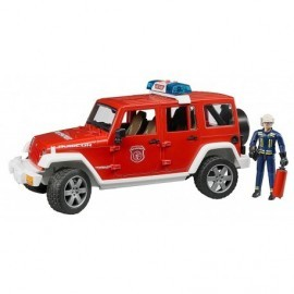 JEEP POMPIER WRANGLER UNLIMITED RUBICON AVEC POMPIER SON LUMIERE