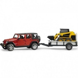 JEEP WRANGLER UNLIMITED RUBICON REMORQUE CHARGEUR CATERPILLAR
