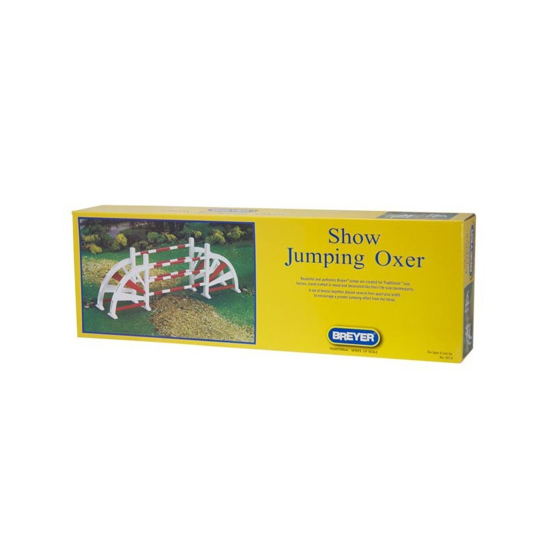 Saut D'Obstacle En Bois - Show Jumping Oxer (Traditionnal