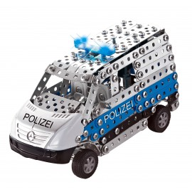 Mini Series - Police Mercedes Benz Sprinter Lumiere & Son - 492 Pieces