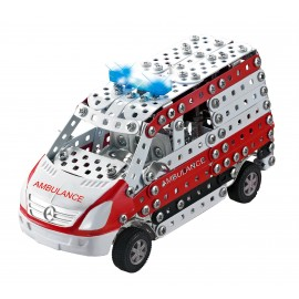 Mini Series - Ambulance Mercedes Benz Sprinter Lumiere & Son - 492 Pieces