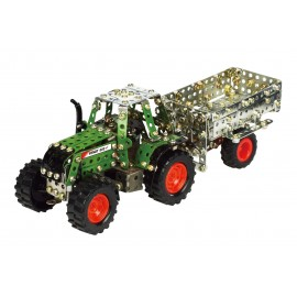 Micro Series - Tracteur Fendt 800 Vario Avec Remorque - 574 Pieces