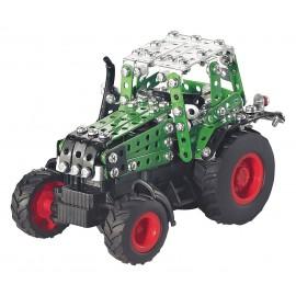 Micro Series Controle Infrarouge Avec Leds - Tracteur Fendt 800 Vario Avec Remorque - 452 Pieces